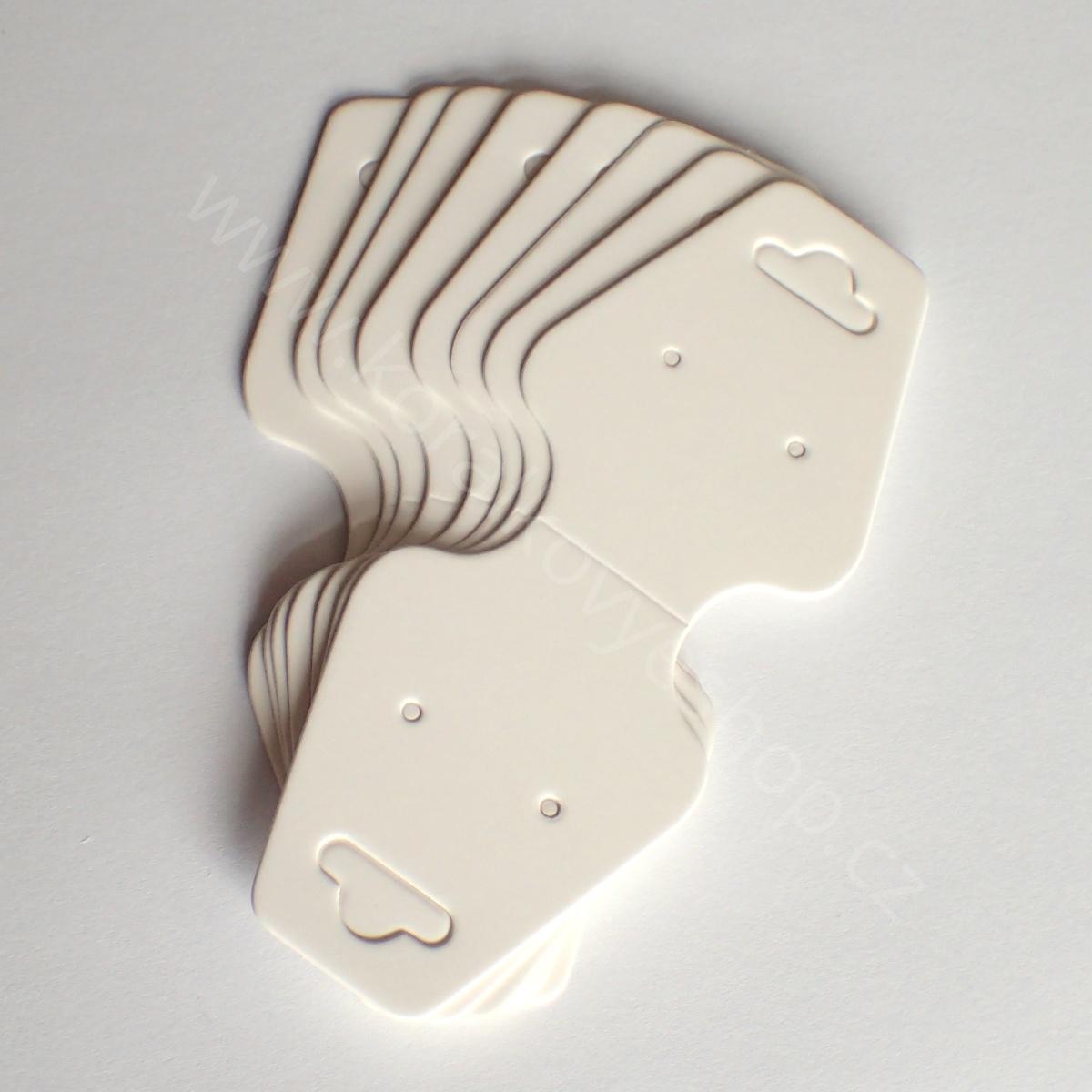 Bižuterní karta 10,5 x 4,5 cm