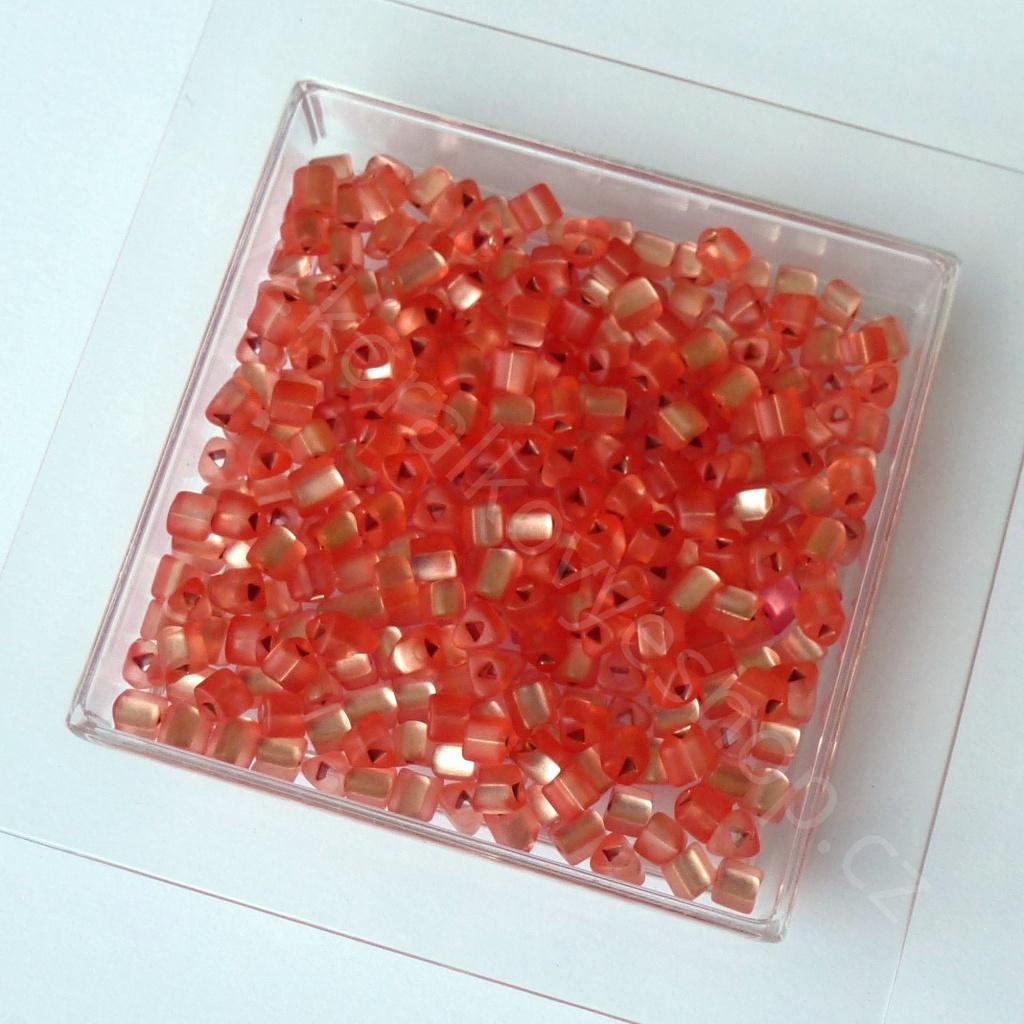 Rokajl PRECIOSA - neon - oranžová - trojúhelník