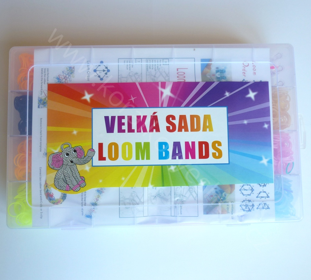 Velká sada Loom Bands