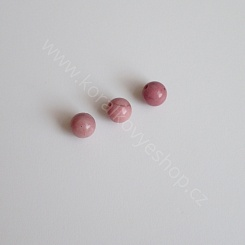 Rhodonite - 6 mm